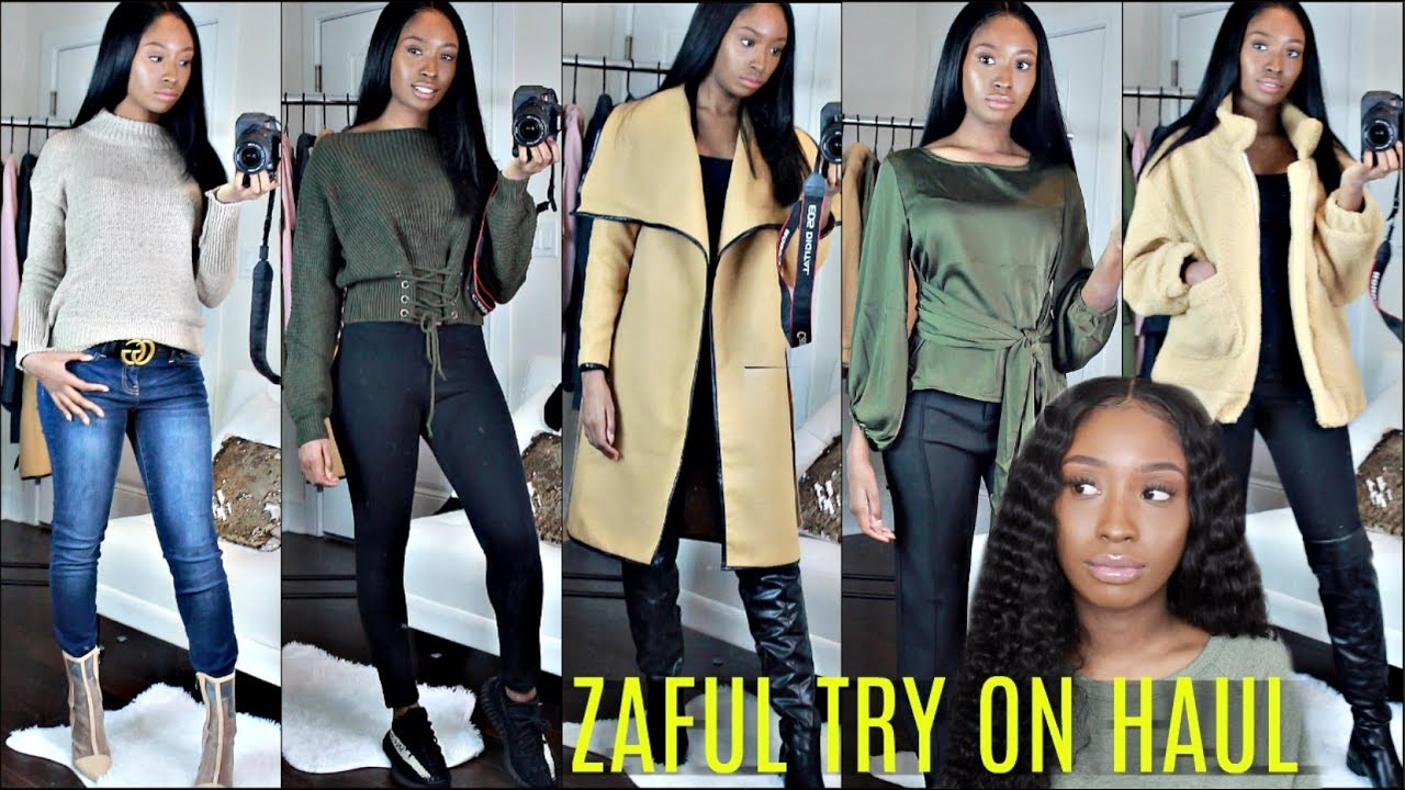 [VIDEO] - HUGE Fall Winter Try on Haul | Look Stylish on a Budget Outfit Ideas 4
