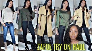 HUGE $350 ZAFUL FALL WINTER CLOTHING TRY ON HAUL   Bougie on a Budget (Giveaway winner #1 announced)