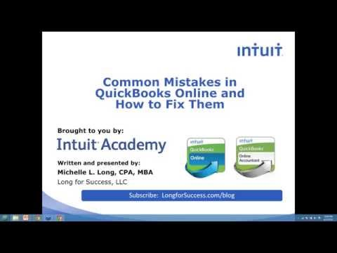 Common Mistakes in QuickBooks Online (QBO) and How to Fix Them
