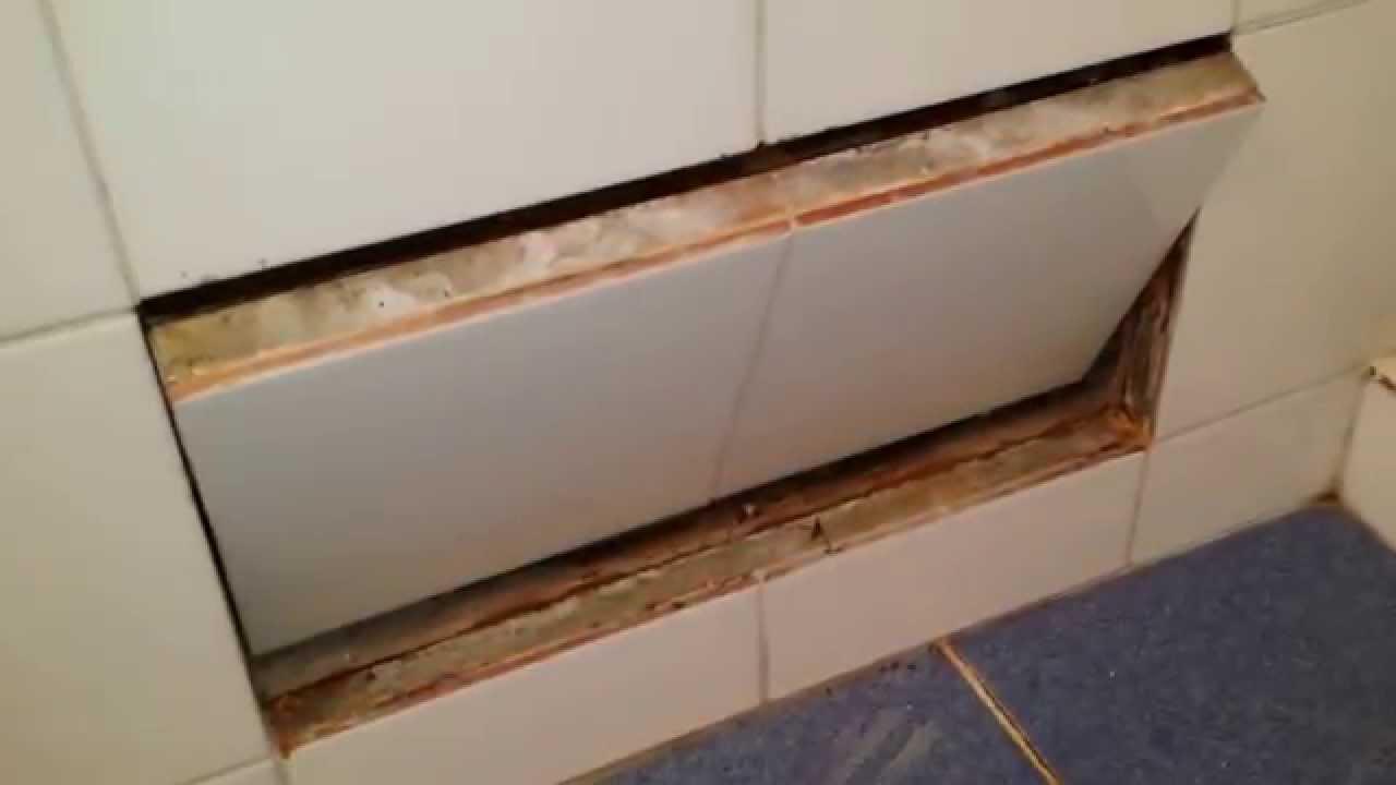 Bedwelming Inspectieluik bad - YouTube VD74