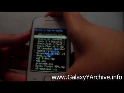 CyanogenMod 7 Theme for Samsung Galaxy Y GT-S5360