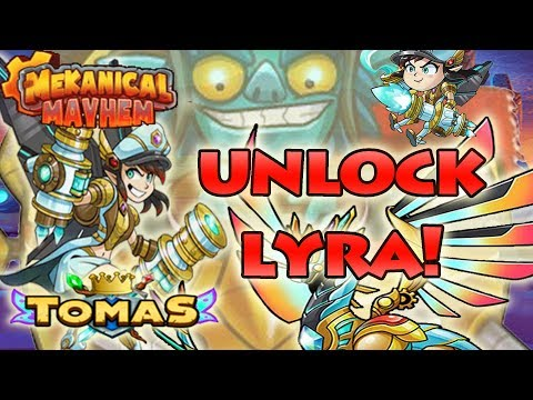 UNLOCK LYRA WITH A CHEAT/HACK - NEW SIDEKICKS NEVER SEEN BEFORE- EVERWING LYRA - TOMASEVERWING