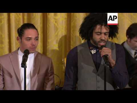 'Hamilton' Cast Performs At The White House