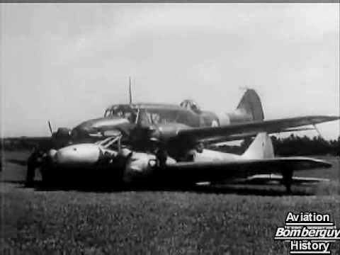 Two Avro Ansons landed together after mid-air 1940