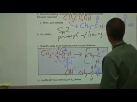 IB Paper 2 practice #5 organic chemistry