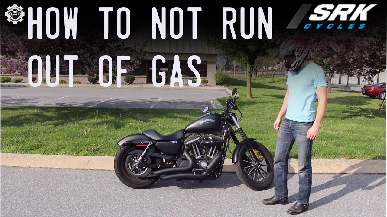 How To Not Run Out Of Gas On A Motorcycle Youtube