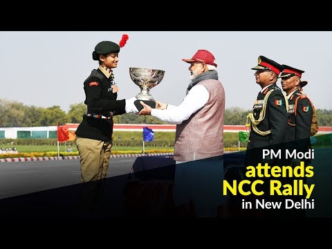 PM Modi attends NCC Rally in New Delhi