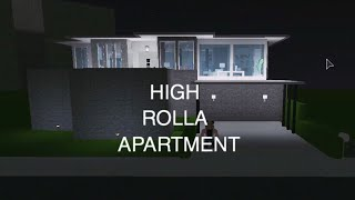 Roblox: Welcome to Bloxburg | High Rolla Apartment On A Mountain | 50k |