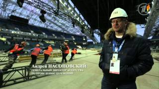 Между землей и небом  Секреты церемонии открытия 2014