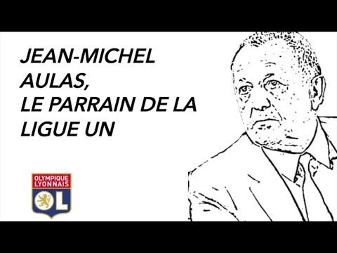 Jean-Michel Aulas, Le parrain de la ligue un