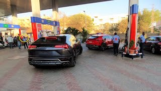 SUPER CARS IN HYDERABAD(INDIA) - FEB 2019   New BMW Z4,NEW GT-R...