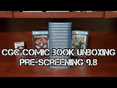 CGC Comic Book Unboxing: Pre-Screen 9.8