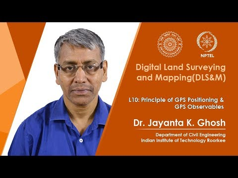 Principle of GPS Positioning & GPS Observables