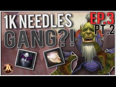 Скачать 1K NEEDLES GANG! (Pt  2) - Project Ascension Levelling Ep 3 (WoW  with Random Abilities) - смотреть онлайн - Видео