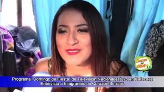 CATACAOS AL DIATV: ENTREVISTA A ANA LUCIA DE CORAZON SERRANO