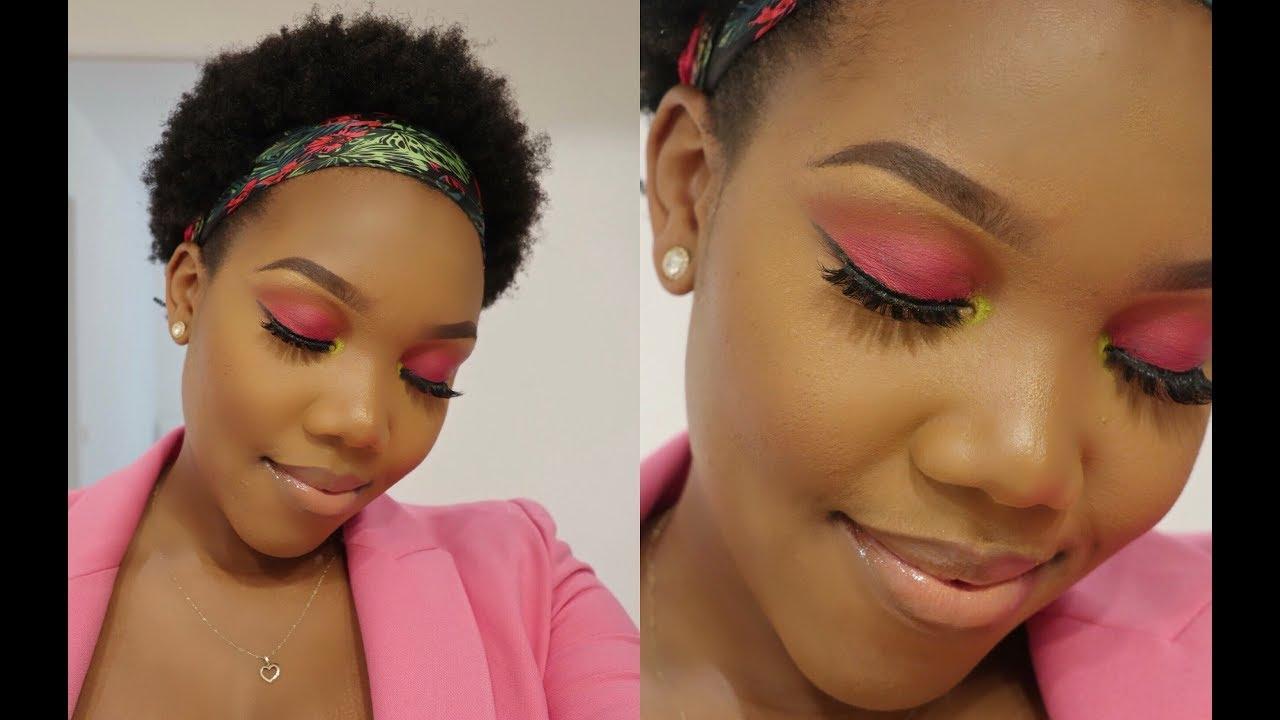 Hot Pink Eyeshadow Tutorial⎢Beginner Friendly