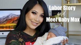My_Labor_Story_+_Meet_My_Baby!_||_EVETTEXO