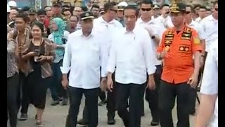 Presiden Jokowi Kunjungi Posko Evakuasi Lion Air JT610