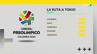 Rumbo a Tokio 2020: Así jugará La Roja Sub 23 el Preolímpico