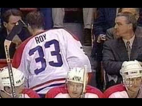 NHL REGULAR SEASON 1995-96 - Detroit Red Wings @ Montreal Canadiens