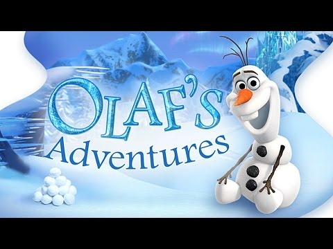 Disney Frozen: Olaf's Adventures Game App for Kids, iPad iPhone iPod