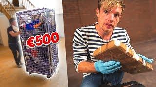 VOOR €500 KOFFERS GEKOCHT EN IK VIND DRUGS?!? #1873