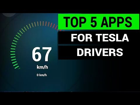 Top 5 Mobile Apps For Tesla Drivers | Tesla Tips