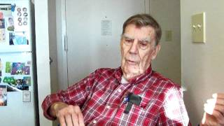 Roger Wade, 8th Airforce, 384th Bomb Group, 546th  Squadron, recalls his first combat mission.