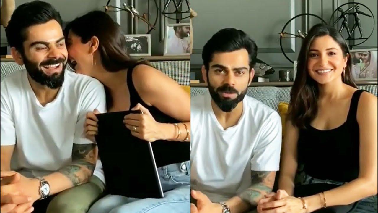 Virat Kohli & Anushka Sharma Takes A Break & Has Hilarious Fun & Masti  With Q&A