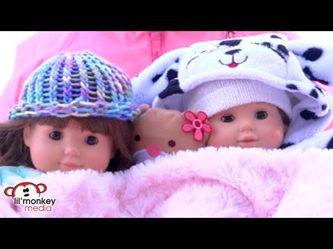 American Girl Bitty Twins Snow Day & Nursery Room Tour!!