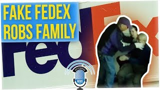 Fake FedEx Workers Rob Family (ft. Boze & Silent Mike)