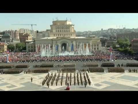 Armenia's military parade in Yerevan 2016 (Full version, HD)