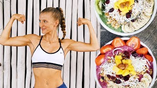 FULL UPPER BODY WORKOUT ROUTINE + POST WORKOUT PROTEIN MEAL