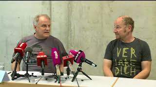 Hohle Düringer-Pressekonferenz  blabla