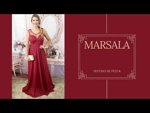 1fc6c09487 Grife Velasco. Vestido Festa Marsala - Madrinha Casamento Formatura Luxo