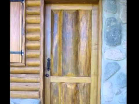 Puertas cz rustico youtube for Puertas principales de madera rusticas