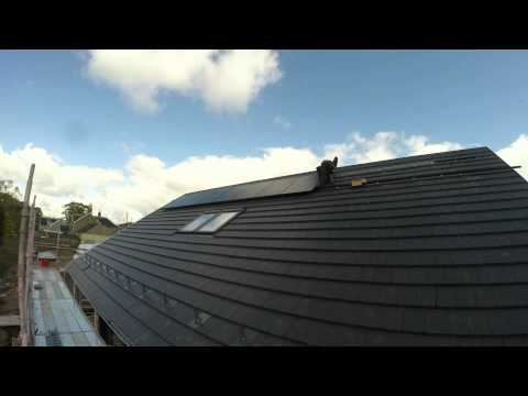 Installation of SunPower modules by Sims Solar