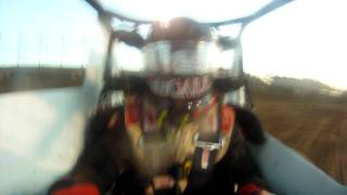 Johnny McCall sprint car 77 onboard