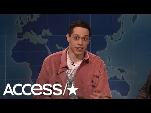 Pete Davidson Jokes About His Suicide Scare During Saturday Night  Return  Access
