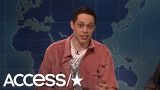 """Pete Davidson was on """"SNL"""" where he joked about his suicide scare b..."""
