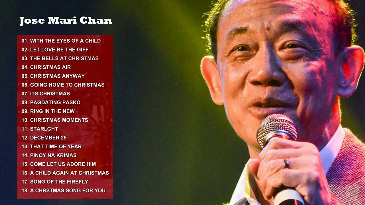 Christmas Songs 2018 with Jose Mari Chan   Best Christmas Songs of All Time - YouTube