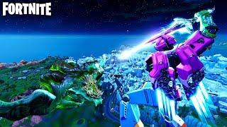 Fortnite Robot vs Monster Full Fight Event Gameplay! (Fortnite Season 9 Event)
