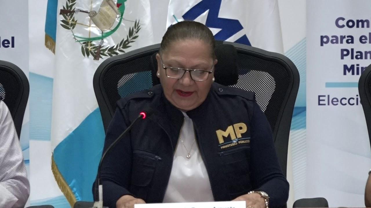 Dra María Consuelo Porras Argueta Fiscal General de la República y Jefe del  Ministerio Público - YouTube