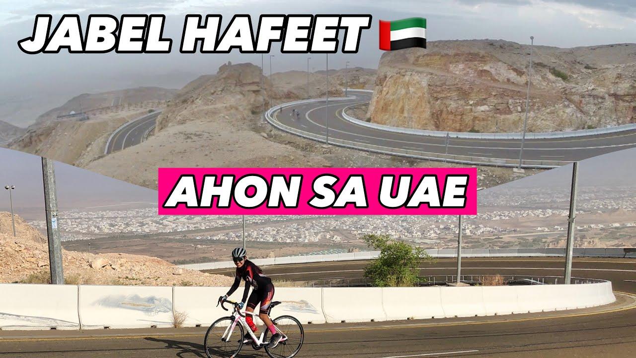 CLIMBING ONE OF THE HIGHEST MOUNTAIN IN UAE, JABEL HAFEET | unang Ahon ni SNOW | by Gaye Paris