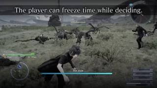 FINAL FANTASY XV - Wait Mode
