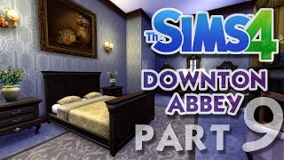The Sims 4 House Building: Downton Abbey / Highclere Castle - Part 9 - (Real Time)