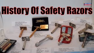 History of Gillette and Other Safety Razors 1930 to 1970