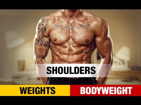 Bodyweight Shoulder Workout NO GYMNO PROBLEM
