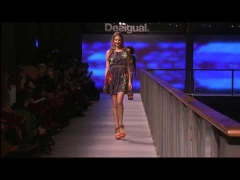 Irina Shayk presents the new Desigual Collection 'Why?' / Live from Barcelona