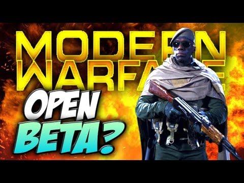 Modern Warfare Open Alpha PS4 + Black Ops 4 Missing Map..